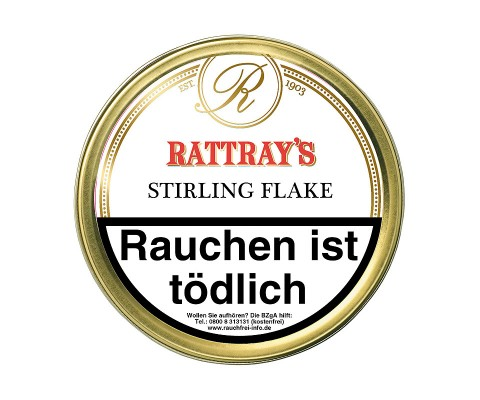 Pfeifentabak Rattray's Stirling Flake