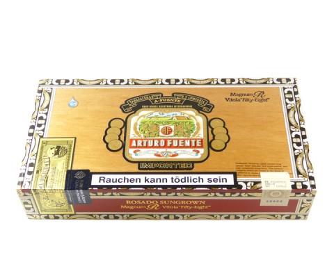 Zigarren Arturo Fuente Rosado Sungrown Magnum R Fifty-Eight Belicoso