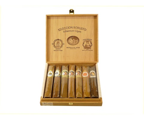 Zigarrensampler Seleccion Robusto 7 Premium Cigars