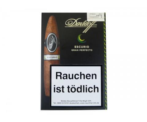 Zigarren Davidoff Escurio Gran Perfecto