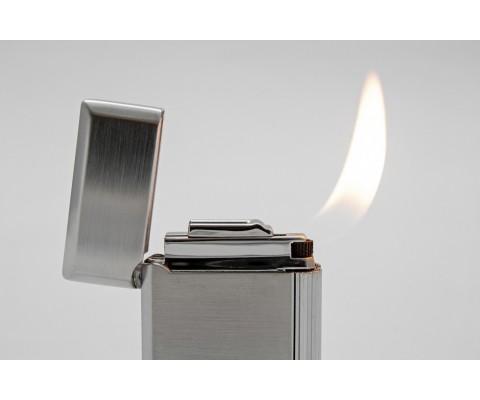 Pfeifenfeuerzeug Rattray's Bel Satin Chrome