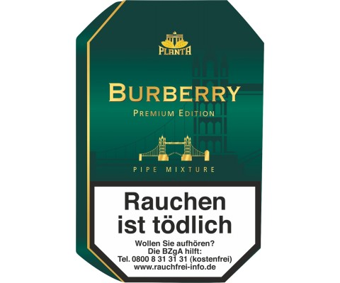 Pfeifentabak Planta Burberry