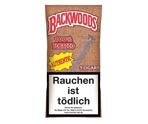 Zigarren Backwoods Authentic (Aromatic-Vanille)