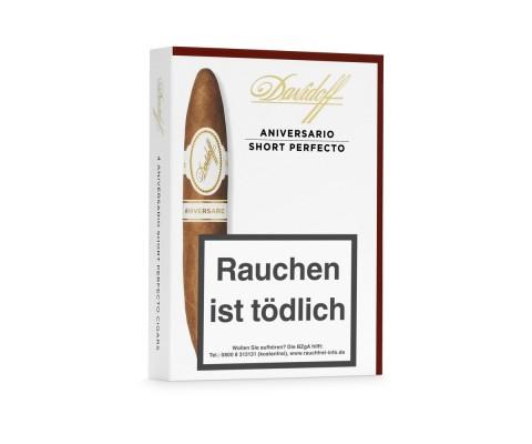 Zigarren Davidoff Aniversario Short Perfecto