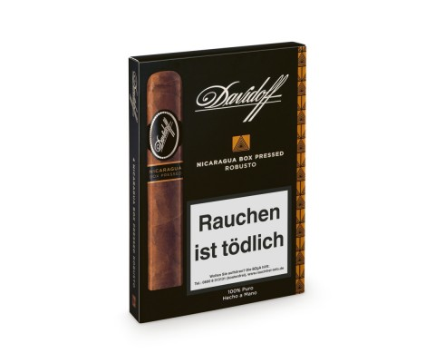 Zigarren Davidoff Nicaragua Robusto Box Pressed