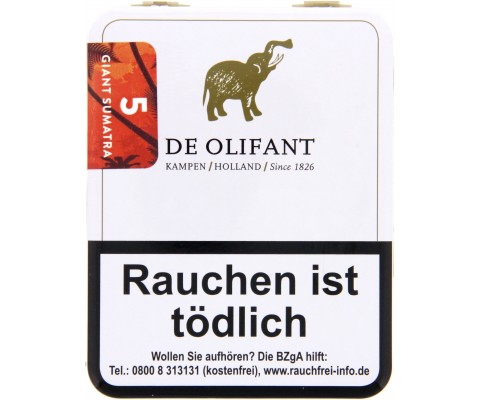Zigarillos De Olifant Sumatra Giant