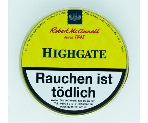 Pfeifentabak Robert McConnell Highgate (angelehnt an Dunhill Navy Rolls)