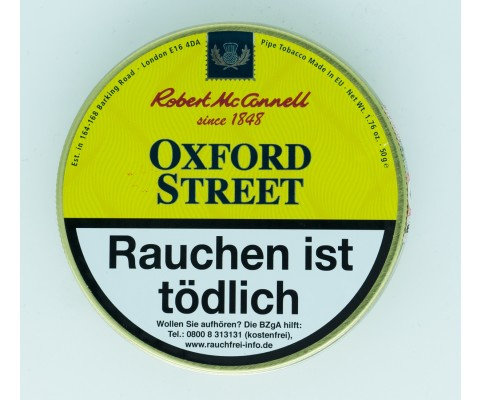 Pfeifentabak Robert McConnell Oxford Street (angelehnt an Dunhill St. Mix. Medium)
