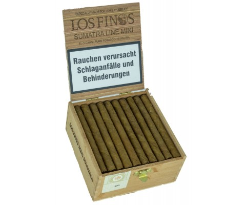 Zigarillos John Aylesbury Los Finos Mini Sumatra