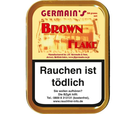 Pfeifentabak Germain's Brown Flake