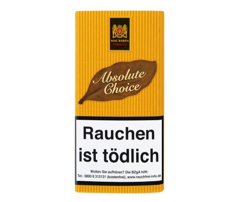 Pfeifentabak Mac Baren Absolute Choice
