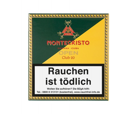 Zigarillos Montecristo Open Club