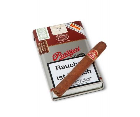 Zigarren Partagas Capitols 5er Vintage Blech Etui