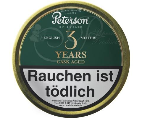 Pfeifentabak Peterson 3 Years Cask Aged English Mixture