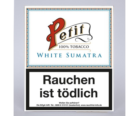 Zigarillos Nobel White Sumatra