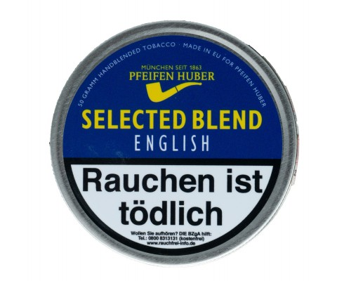 Pfeifentabak Selected Blend English