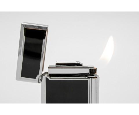Pfeifenfeuerzeug Rattray's Bel Black Chrome