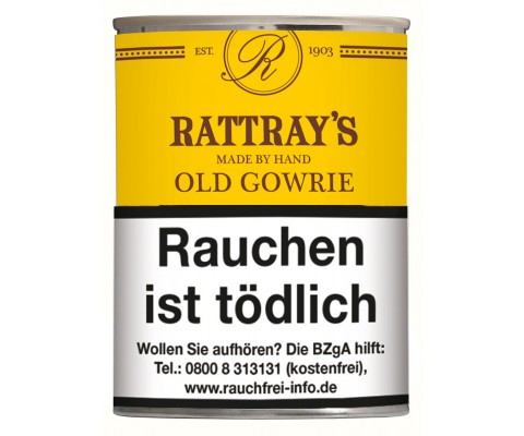 Pfeifentabak Rattrays Old Gowrie