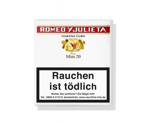 Zigarillos Romeo y Julieta Mini