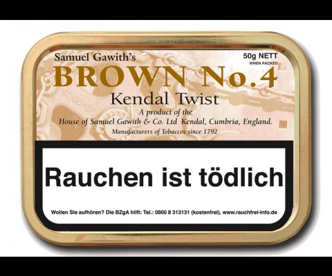 Pfeifentabak Samuel Gawith Brown N° 4