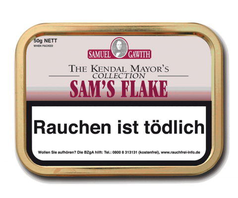 Pfeifentabak Samuel Gawith Sam's Flake