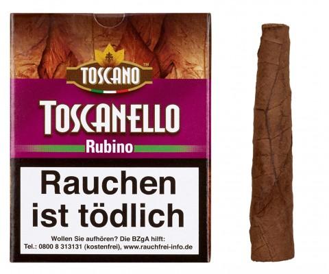 Zigarillos Toscano Toscanello Rubino