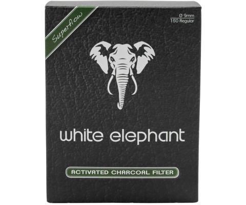 Aktivkohlefilter White Elephant 9mm 150 Stk.