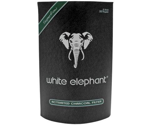 Aktivkohlefilter White Elephant 9mm 250 Stk.
