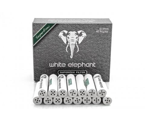 Super Mix White Elephant 9mm 40 Stk.