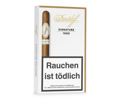 Zigarren Davidoff Signature N° 1000