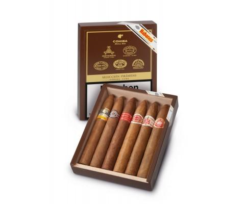Zigarrensampler Seleccion Piramides Cuba