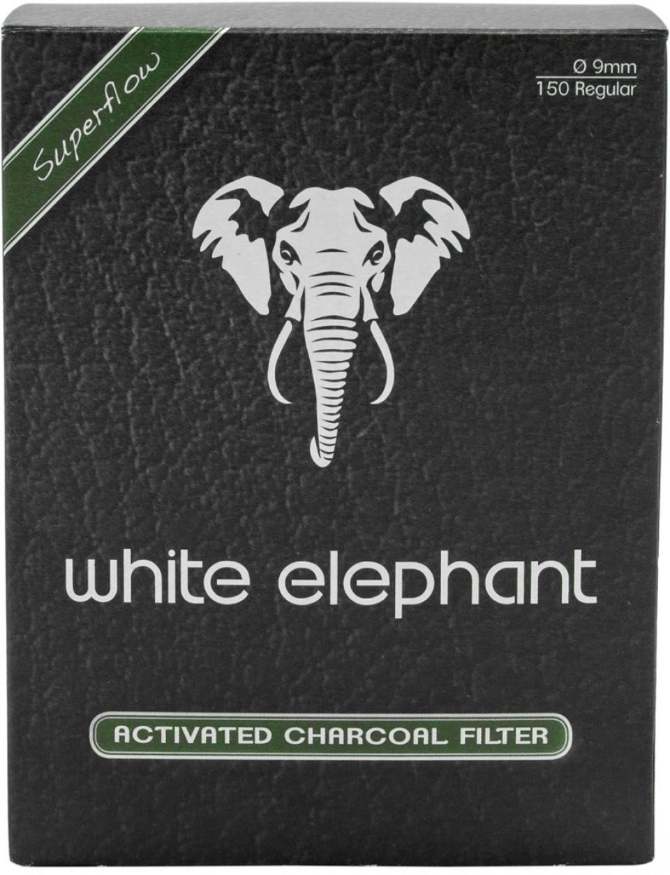 Aktivkohlefilter White Elephant 20mm 20 Stk.